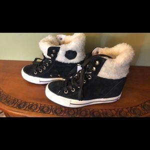 7dd453562d19 Women s Converse Hidden Wedge Sneakers on Poshmark